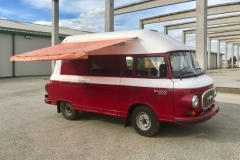Barkas full renovation, rebuilding from the bus